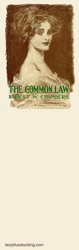 Dust Jacket Bookmark, Charles Dana Gibson, Common Law